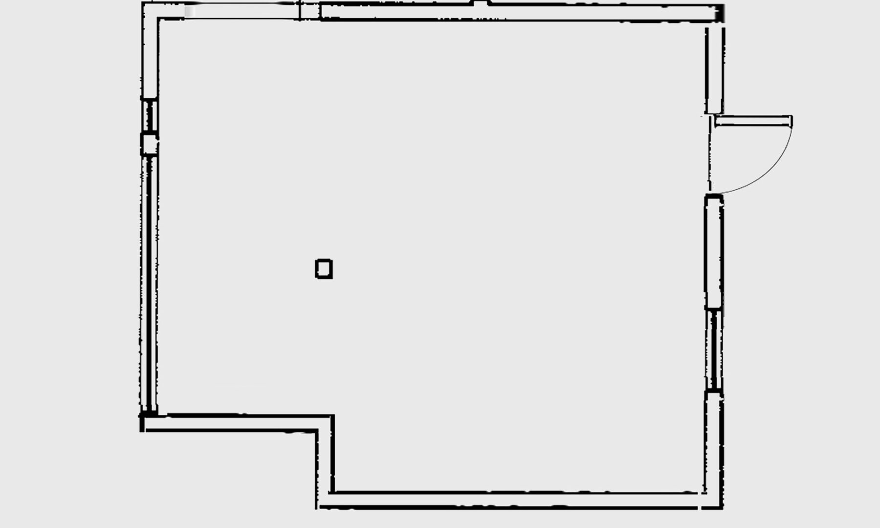 Trecentosessanta metri cubi circa